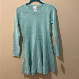 Falls creek girls XL sweater dress size 14/16 NWT